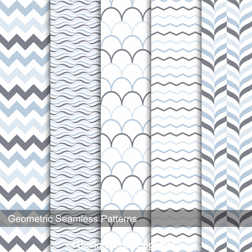 Ripple seamless background pattern vector