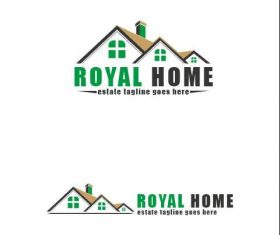 Royal Home logo vector