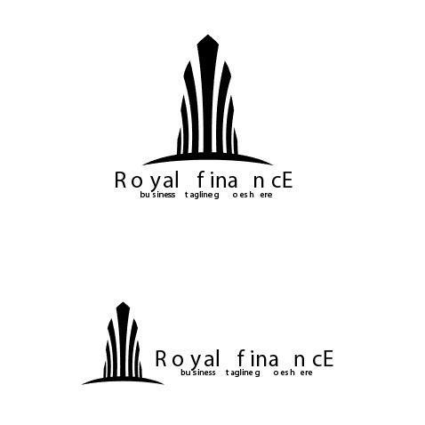 Royal finance logo vector