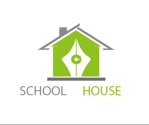 School house logo vector