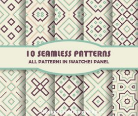 Seamless rhombus pattern vector