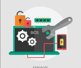 Services elements vector