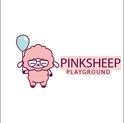 Sheep mascot logo vector