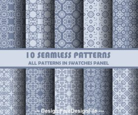 Simple but elegant seamless pattern vector