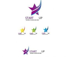 Start Up logo vector