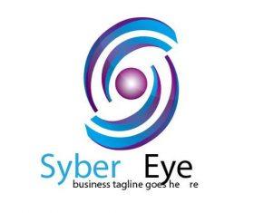 Syber eyelogo vector
