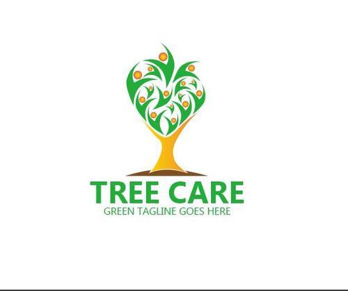 Tree care logo vector