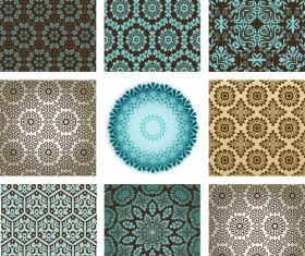 Wallpaper collection vector