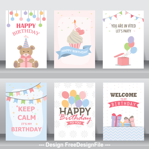 Welcome greeting card vector