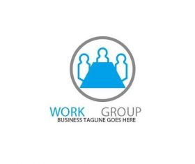 Work group logo vector