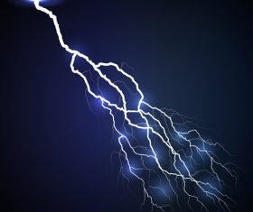 lightning dark blue vector