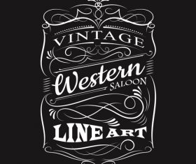 vintage label typography t-shirt design vectors