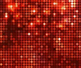 Abstract red shiny checkered background vector