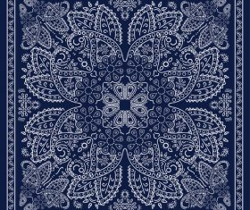 Blue background pattern vector