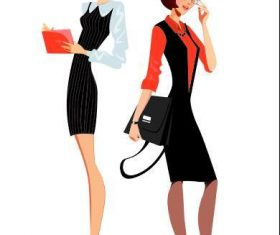 Career woman vector