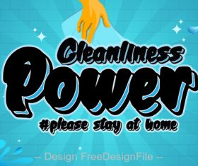 Cleanliness Power Fonts