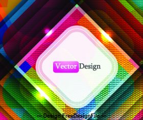 Color overlay abstract background vector