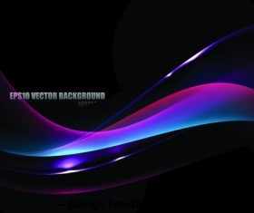 Curve radian background vector