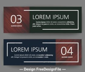 Dark background banner vector
