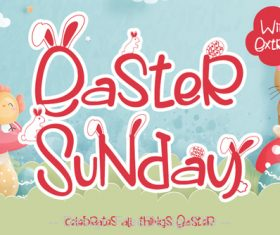 Easter Sunday Fonts