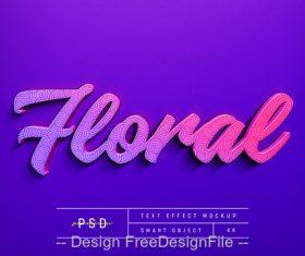 Feorae text Effect Photoshop Styles