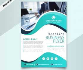 Creative professional business flyer template vector