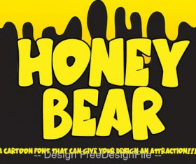 Honey Bear Fonts