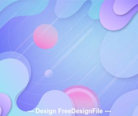 Light color abstract background vector