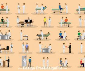 Patient bandage vector