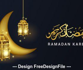 Ramadan Kareem illustrations vector
