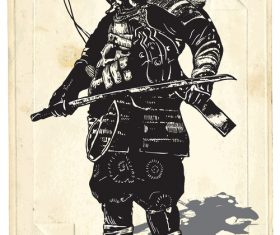 Shogun big shogun vector