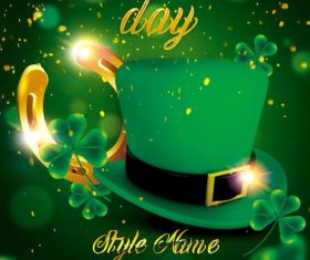 St. patricks day poster psd template
