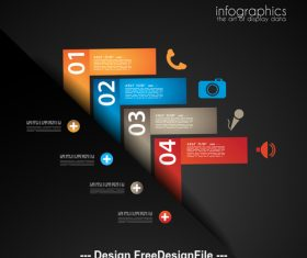 The art of display data illustrator vector