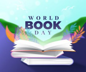 World book day vector
