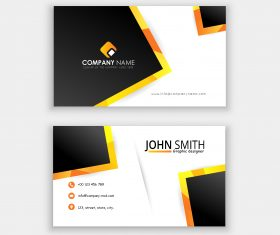 Creative Corporative business card template vector