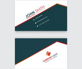 Different type business card template