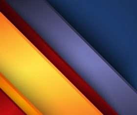 Blue Red Orange Abstract Background Vector