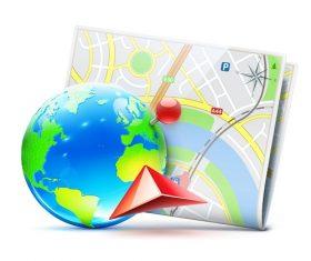 Earth Roadmap Vector