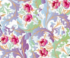 Flower Pattern Background Graphic Vector