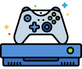 Gaming Console Icon Vector