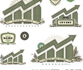 Money Info graphic Vector
