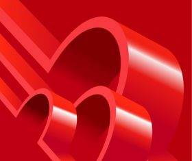 Red Abstract Background Vector
