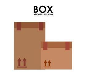 Box White Background Vector
