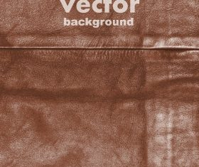 Realistic Leather Background Vector