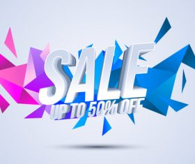 Bargain sales vector