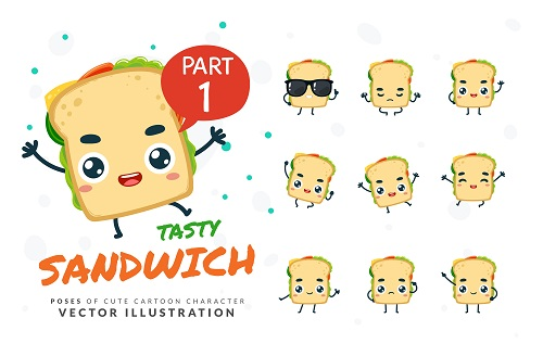 cartoon images of sandwich vector free download cartoon images of sandwich vector free