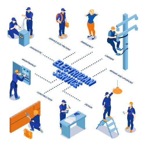 Electrician Services Vector