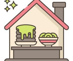 Food Show vector