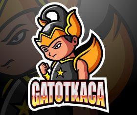 Gatotkaca Logo Vector