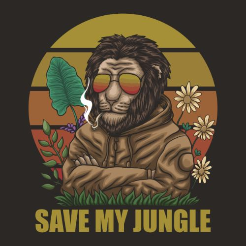 Gorilla Save Jungle Vector